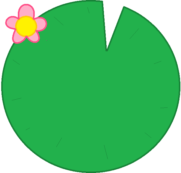 Lily pads clipart