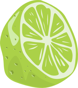 Clipart lime png black and white download Half Lime Clip Art at Clker.com - vector clip art online, royalty ... png black and white download