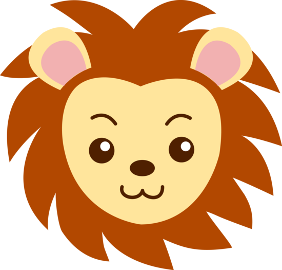 Clipart lion face clipart freeuse library Cute Lion Face - free clip art   RA ideas   Cute lion, Lion drawing ... clipart freeuse library