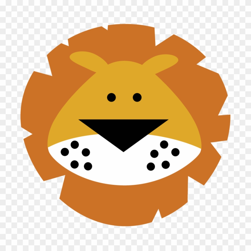 Clipart lion face jpg library stock Tiiger Clipart Baby Lion - Cute Lion Face Cartoon - Png Download ... jpg library stock