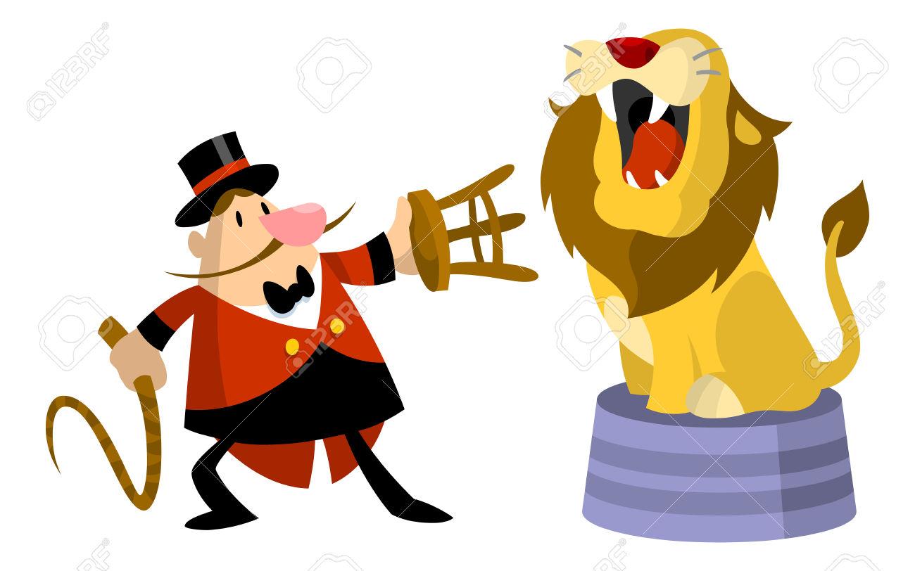 Clipart lion tamer jpg black and white Lion Tamer Clipart | Free download best Lion Tamer Clipart on ... jpg black and white