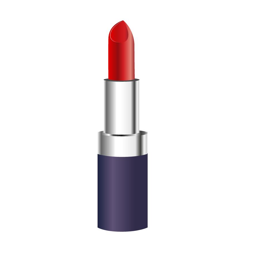 Free clipart lipstick clip black and white Lipstick clipart free vector graphics freevectors 2 - ClipartBarn clip black and white