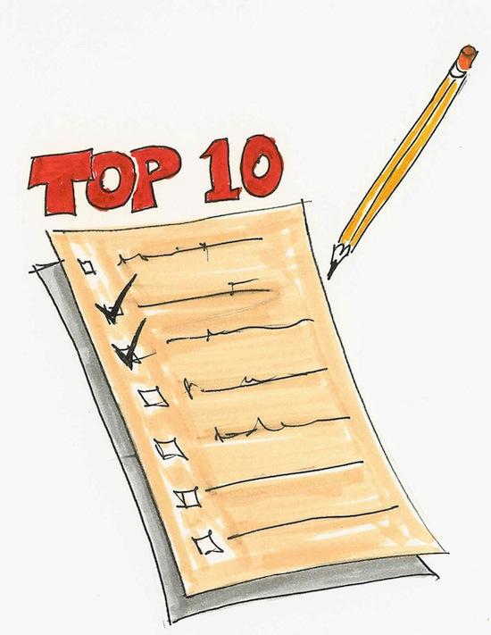 Clipart list banner stock Top Ten List Clipart - Clipart Kid banner stock