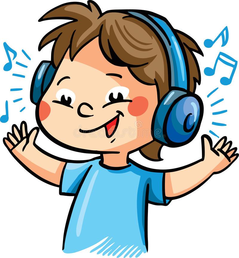 Clipart listen to music