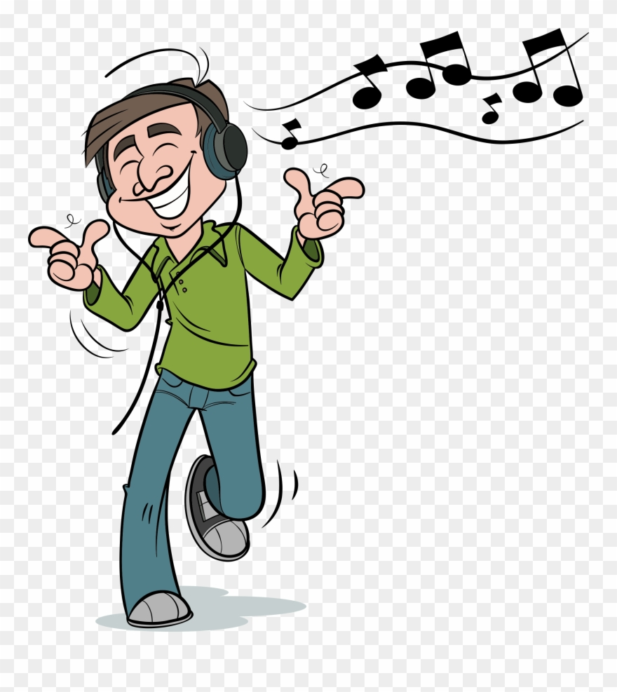 Clipart listen to music freeuse stock Listening Graphic Free - Listen To Music Clipart Gif - Png Download ... freeuse stock
