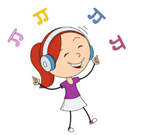 Girl listening to music clipart clipart library library Free Listen Music Cliparts, Download Free Clip Art, Free Clip Art on ... clipart library library