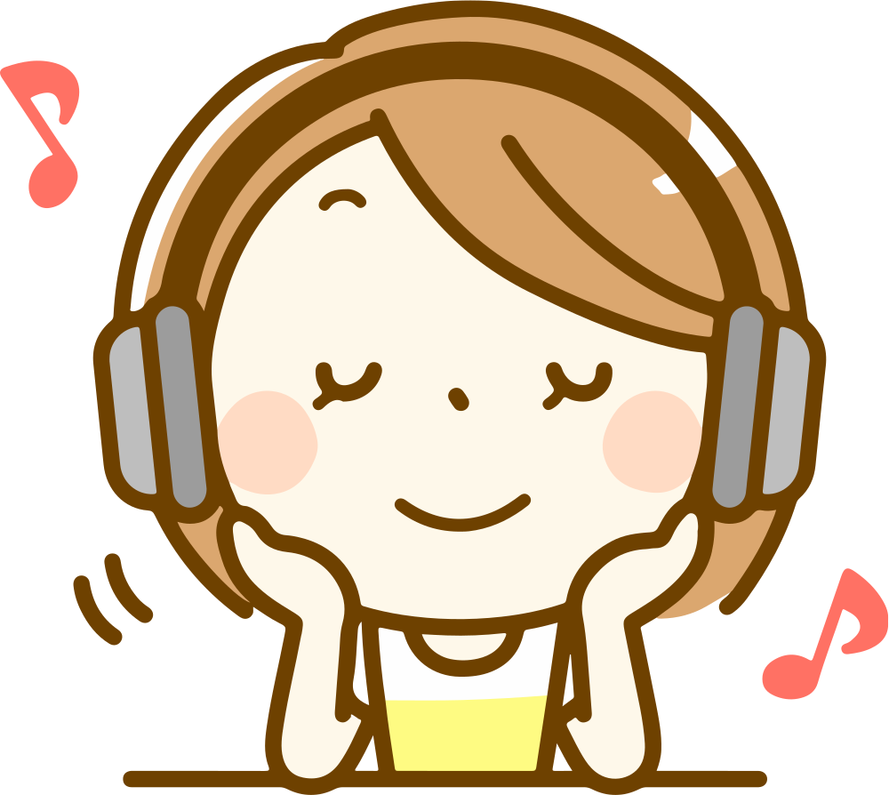 Girl listening to music clipart clipart library download OnlineLabels Clip Art - Woman Listening To Music (#2) clipart library download
