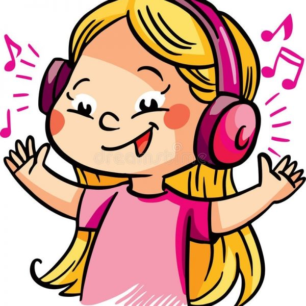 Girl listening to music clipart png download Listening music clipart 2 » Clipart Station png download