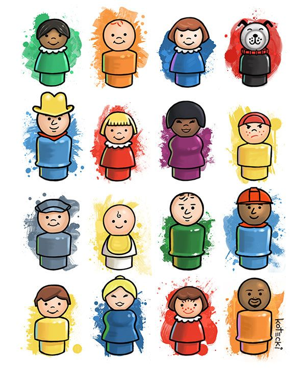 Clipart little people png royalty free stock Fischer Price Little People Clipart & Free Clip Art Images #25893 ... png royalty free stock