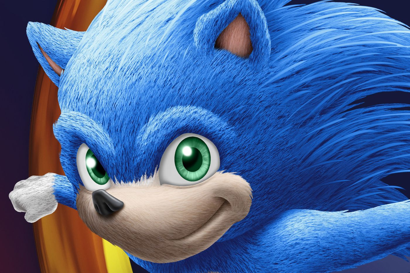 Clipart live blue movies clip royalty free Here he is: Sonic the Hedgehog in full, live-action movie form - Polygon clip royalty free