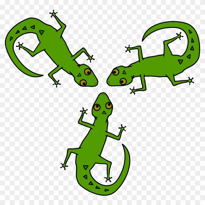 Clipart lizards clipart royalty free download Gecko Salamander Lizard - Lizards Clipart, HD Png Download ... clipart royalty free download
