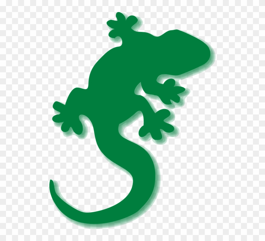 Gecko clipart clipart royalty free stock Gecko Clipart Green Gecko - Lizards Clipart - Png Download (#78088 ... clipart royalty free stock