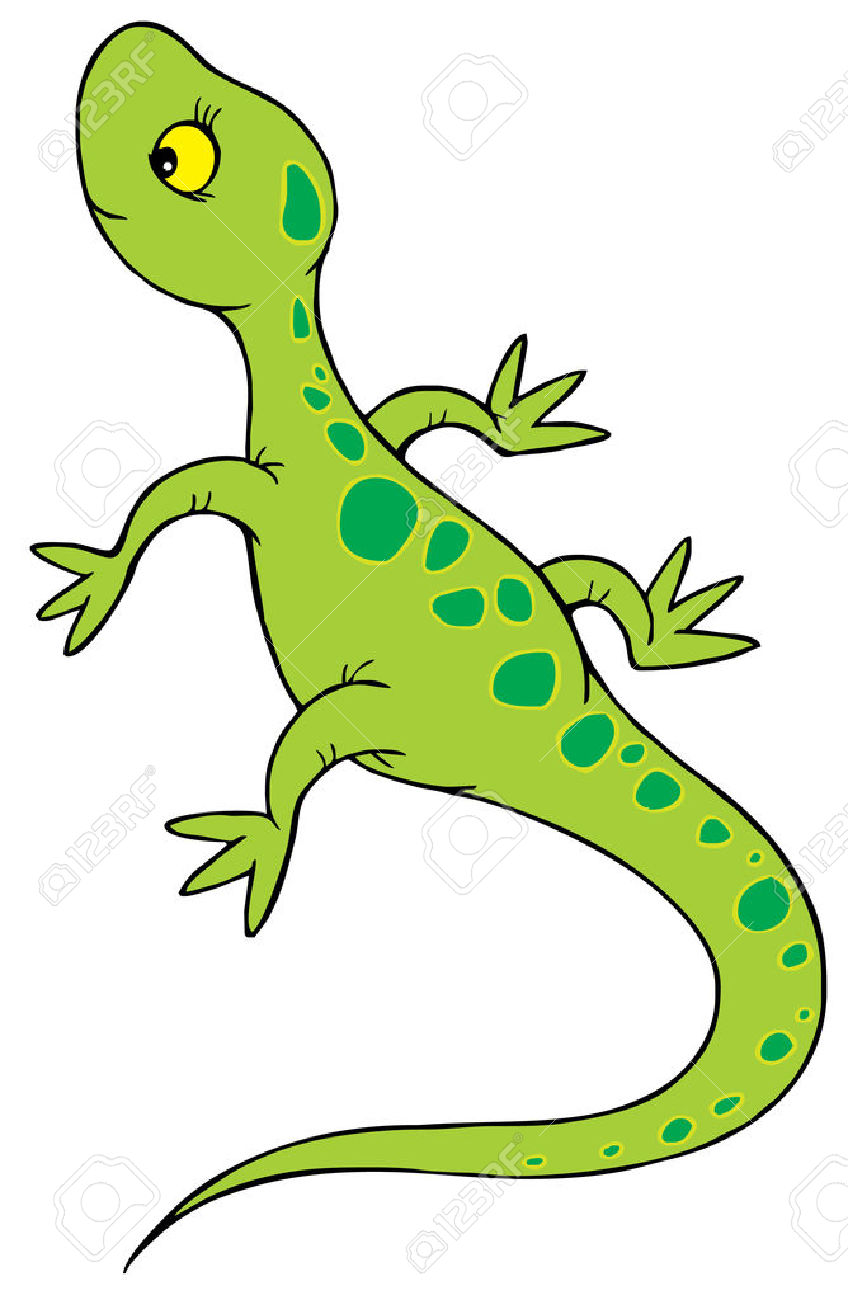 Clipart lizzards black and white library Lizard clipart 1 - WikiClipArt black and white library