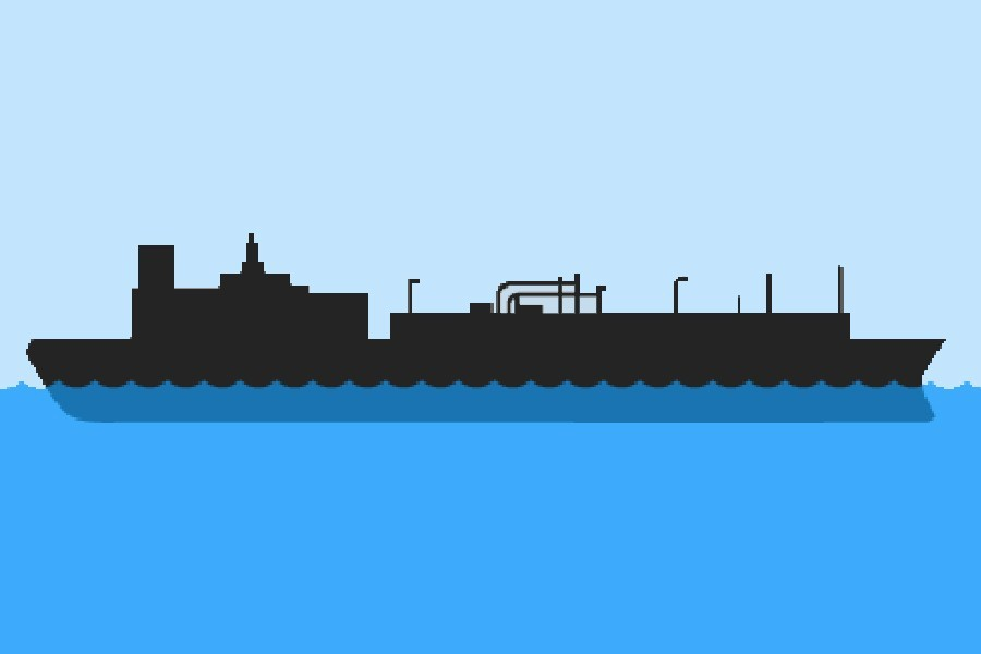 Clipart lng project overview jpg black and white Petrobangla cancels LNG terminal deal with HSMPL jpg black and white