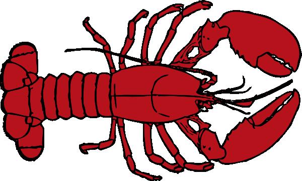 lobster clipart | Lobster Outline clip art - vector clip art online ... png transparent stock