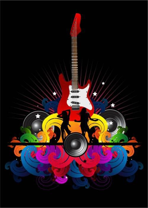 Clipart local music free download jpg freeuse stock Music Vector   Music vector clipart pack   LordofDesign.com ... jpg freeuse stock