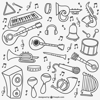 Clipart local music free download banner stock Instruments Vectors, Photos and PSD files   Free Download banner stock