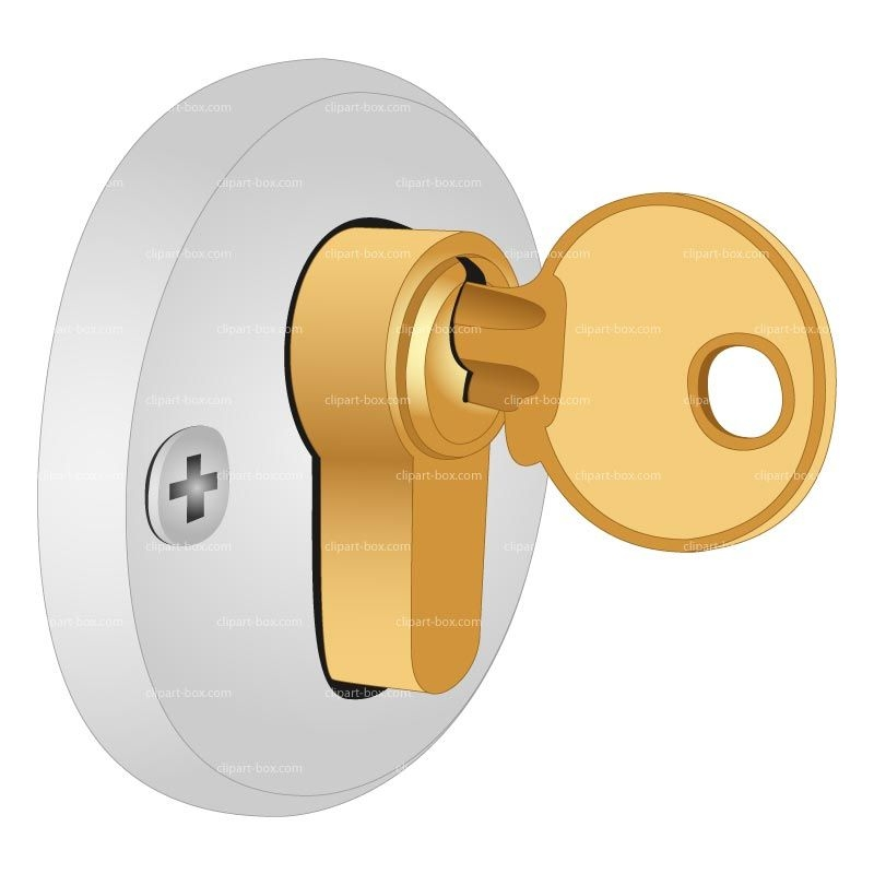 Library of graphic black and white lock door png files ...