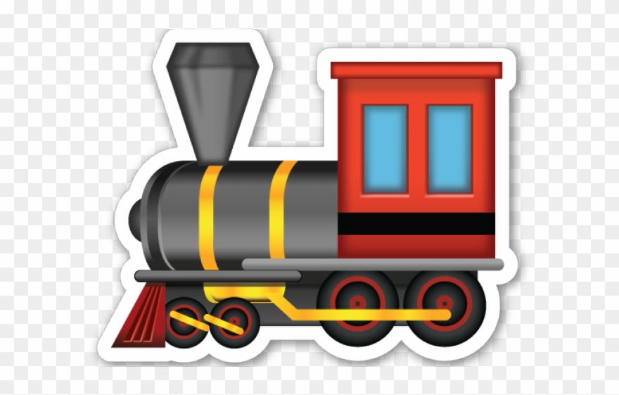 Train head on steam engine black and white clipart clipart freeuse stock Locomotive Clipart Train Head - Train Emoji Png Transparent Png ... clipart freeuse stock