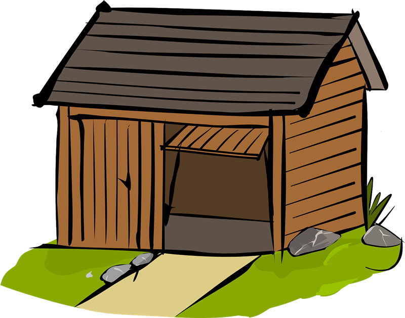 Wood house clipart image library library 28+ Collection of Wood House Clipart | High quality, free cliparts ... image library library