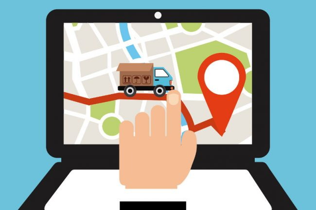 Vehicle tracking clipart graphic transparent stock Why Delivery Companies are Using GPS Tracking? graphic transparent stock
