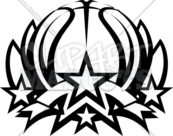 Clipart logo creator graphic freeuse download Basketball Vector Graphic Graphic Vector Logo graphic freeuse download