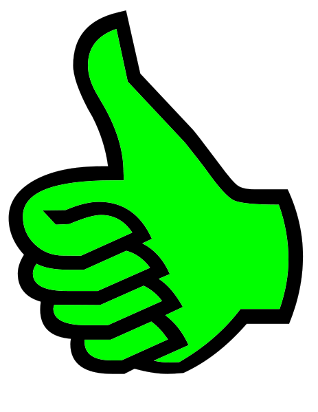 Green best symbol greenpng. Clipart logo thumbs up