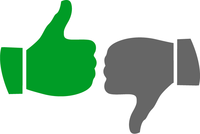 Clipart logo thumbs up. Green best