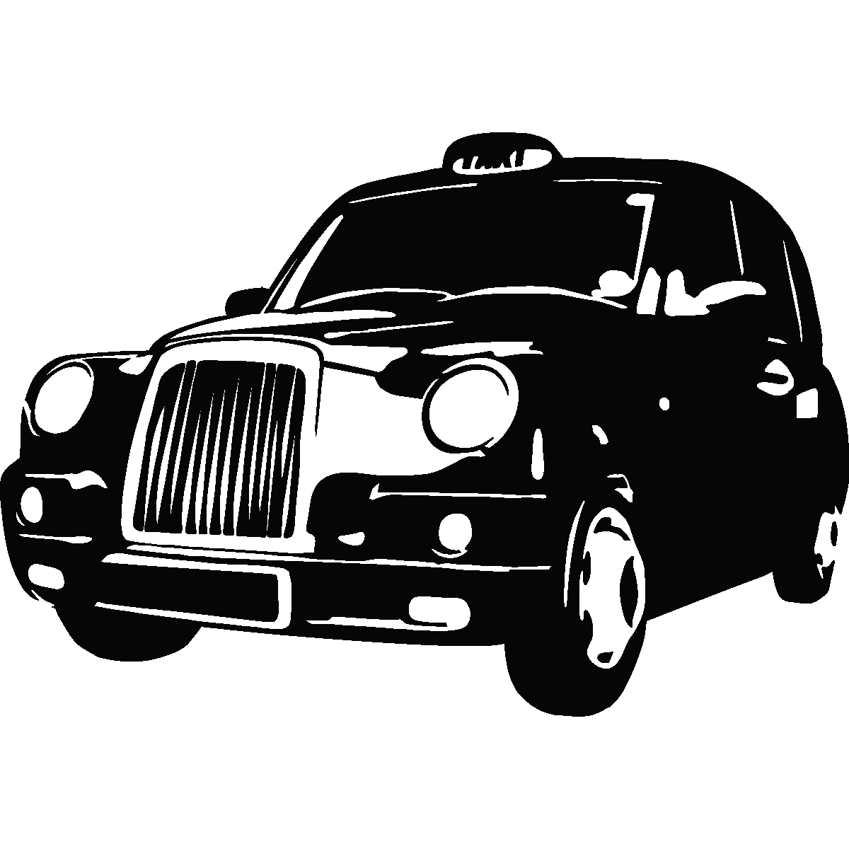Clipart london taxi image black and white download Free Taxi Cliparts, Download Free Clip Art, Free Clip Art on Clipart ... image black and white download