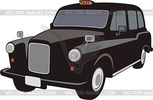 Clipart london taxi vector free library London Taxi Cab - vector clip art vector free library