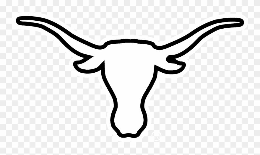 Texas longhorns logo clipart clip black and white download Texas Longhorns Logo Png - Black And White Longhorn Logo Clipart ... clip black and white download