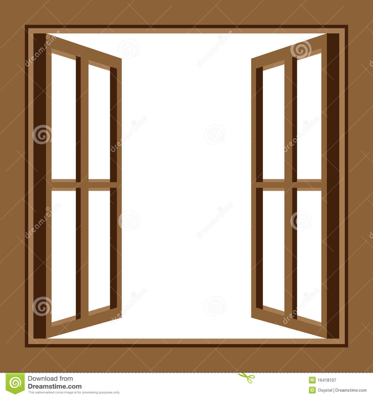 Window clipart open