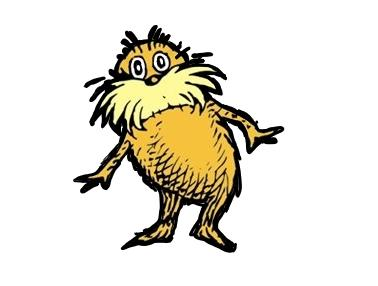 Dr seuss lorax clipart clip black and white Free Lorax Cliparts, Download Free Clip Art, Free Clip Art on ... clip black and white