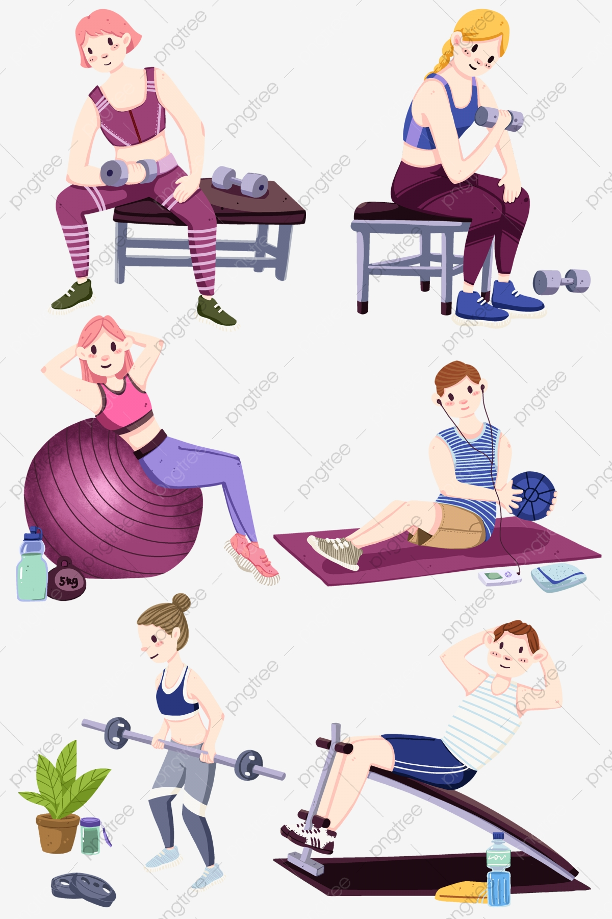 Woman lose png . Fitness weight loss clipart