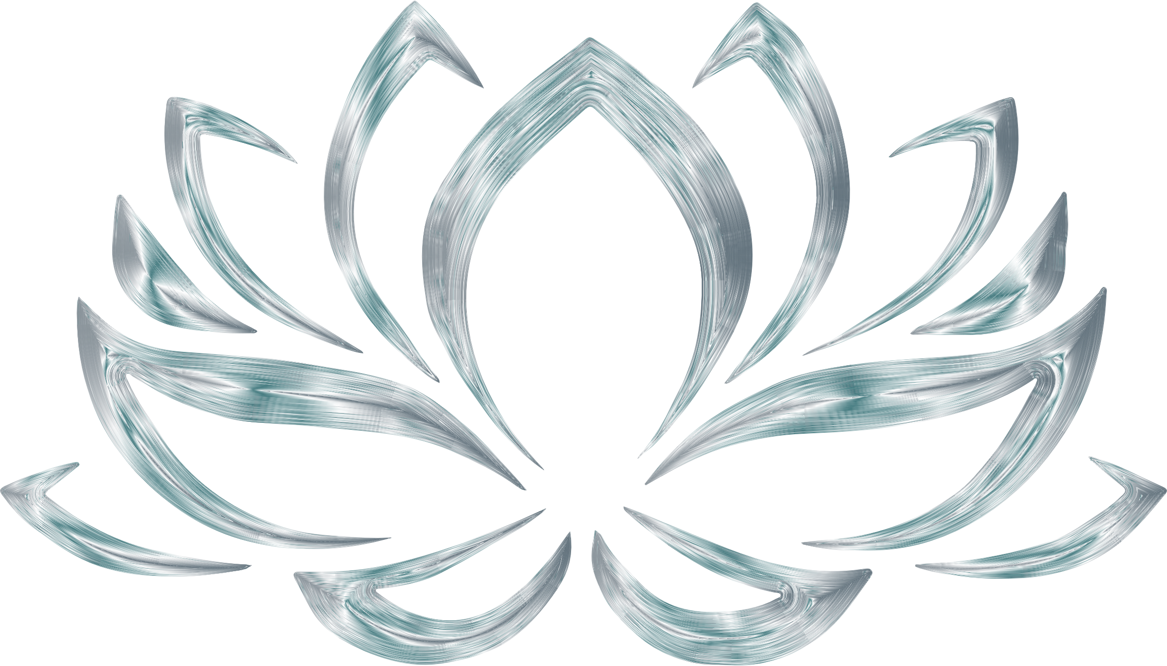 Flower no background clipart vector library Clipart - Silverized Lotus Flower No Background vector library