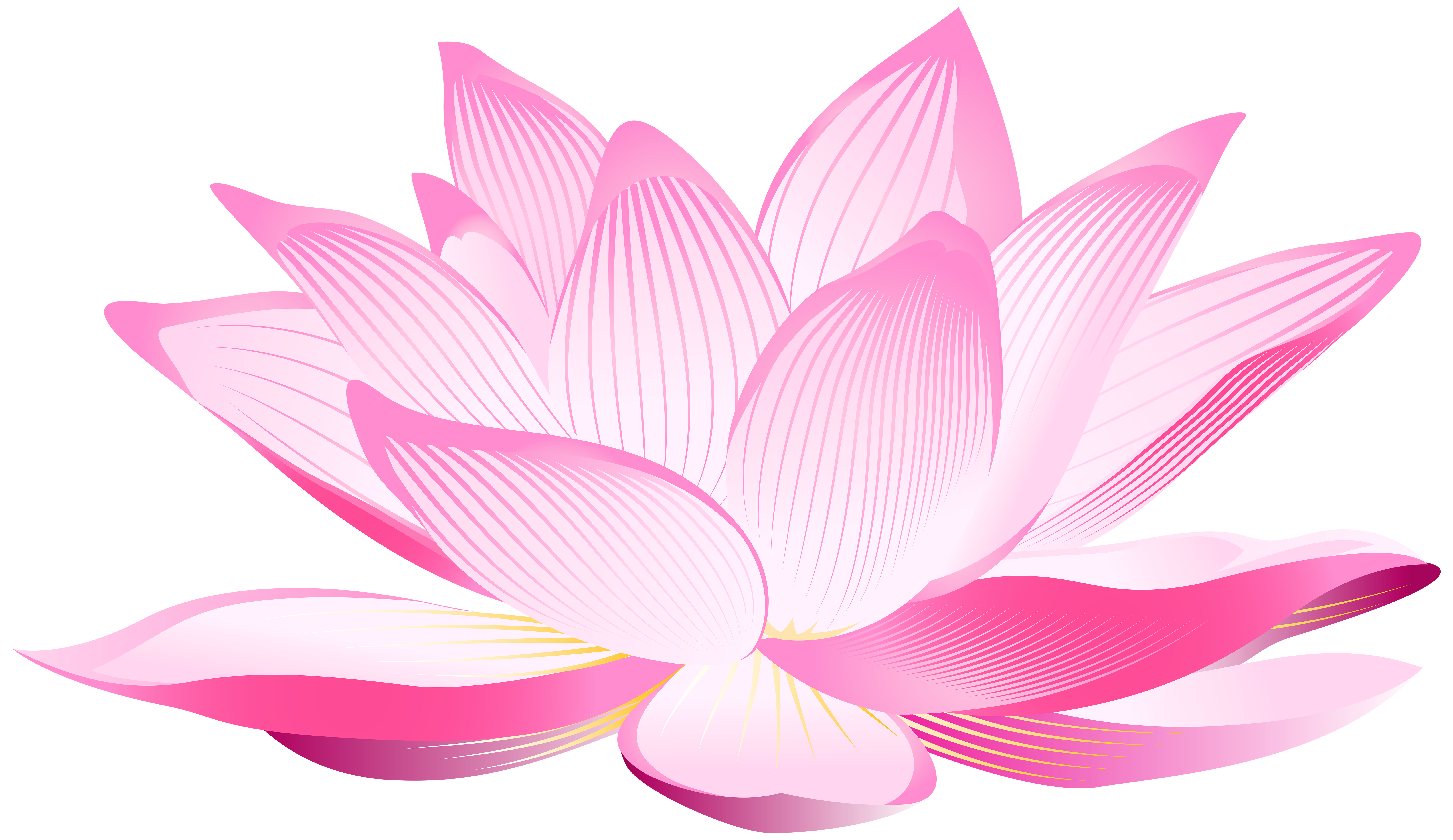 Lotus flower clipart free vector freeuse library Lotus Flower PNG Clip Art Image | Gallery Yopriceville - High ... vector freeuse library