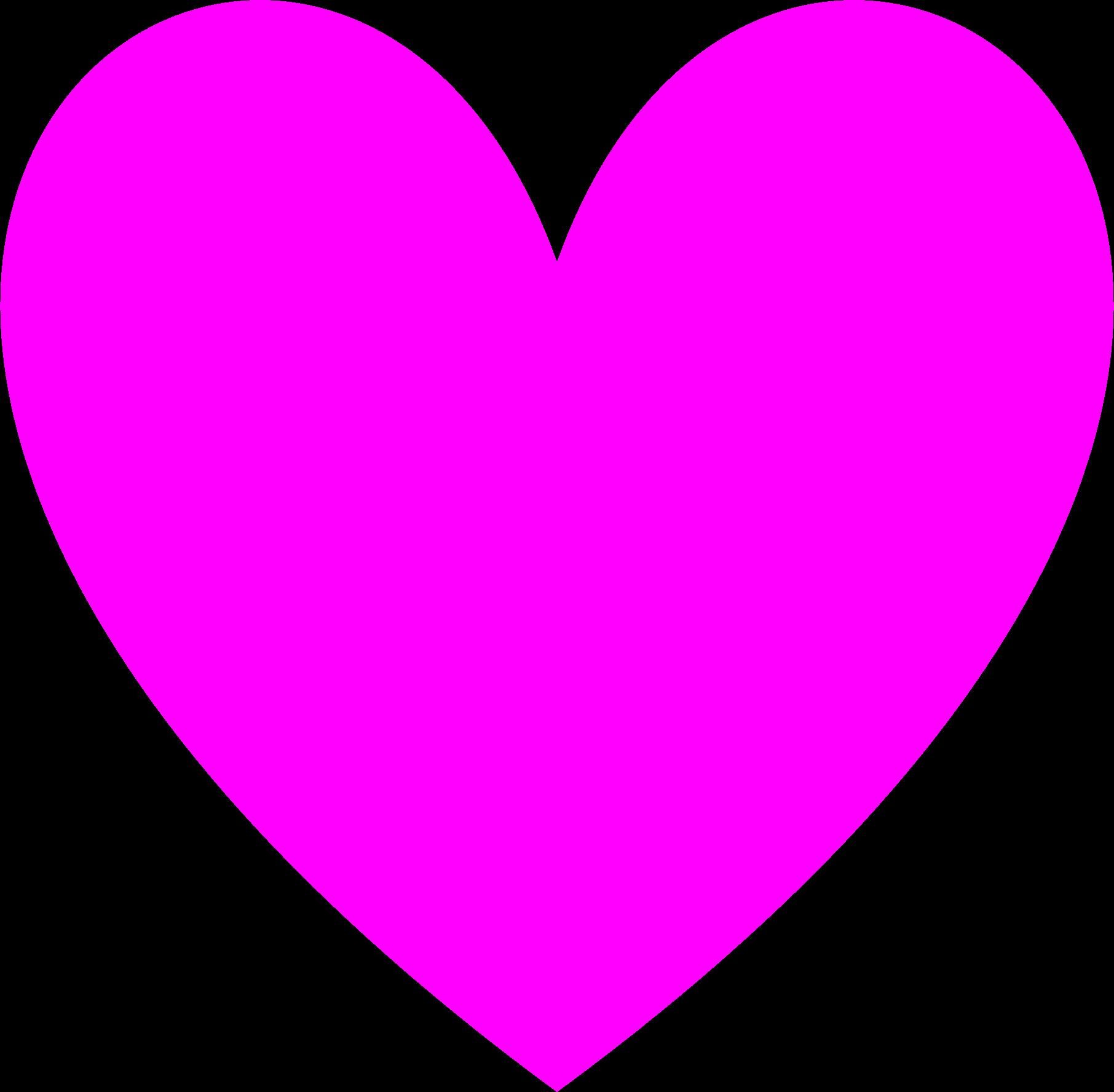 Clipart love heart jpg freeuse Clipart - Transparent Magenta Loveheart jpg freeuse