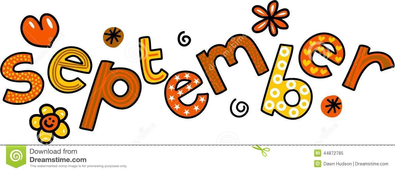 Clipart of september clipart free Free clipart images september - ClipartFest | months | Clip art, Art ... clipart free