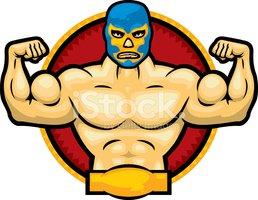 Clipart luchador vector freeuse library Mexican Luchador stock vectors - Clipart.me vector freeuse library