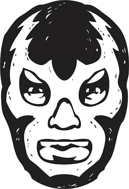 Clipart luchador vector library library Luchador mask clipart 8 » Clipart Station vector library library