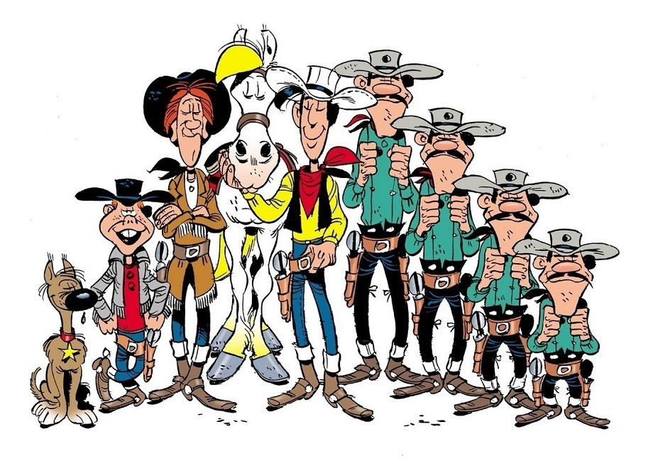 Clipart lucky luke jpg stock Lucky Luke Characters (Picture Click) Quiz - By Cutthroat jpg stock