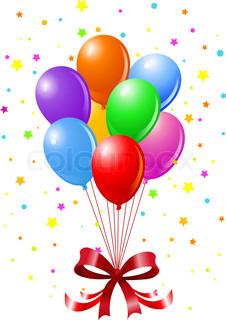 Clipart luftballon geburtstag banner library library Cliparts luftballons geburtstag - ClipartFox banner library library