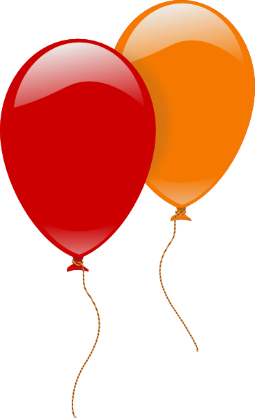 Clipart luftballon geburtstag svg free Baloons Clip Art at Clker.com - vector clip art online, royalty ... svg free