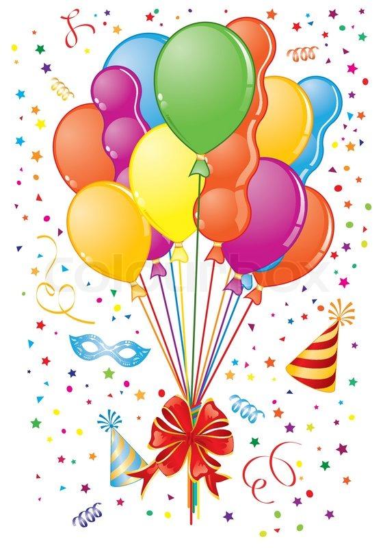 Clipart luftballon geburtstag clip art library download Luftballons und luftschlangen clipart - ClipartFox clip art library download