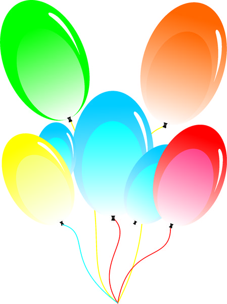 Clipart luftballon geburtstag vector royalty free download Free Premium Cliparts - ClipartFest vector royalty free download