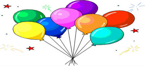 Clipart luftballon geburtstag svg black and white download Geburtstagsgifs Geburtstag Happy Birthday Compleanno Kostenlose ... svg black and white download