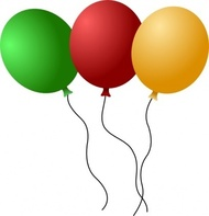 Clipart luftballon geburtstag jpg freeuse stock Luftballon rot clipart - ClipartFest jpg freeuse stock