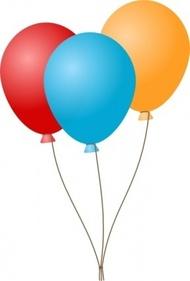 Clipart luftballon geburtstag clip black and white Clipart luftballon geburtstag - ClipartFest clip black and white