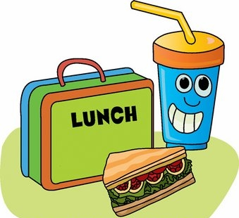 Clipart lunch food clipart vector freeuse Lunch Time Clip Art | Clipart Panda - Free Clipart Images vector freeuse