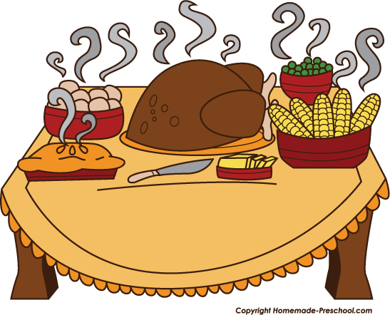Clipart lunch food clipart transparent library Dinner food clipart - ClipartFest transparent library